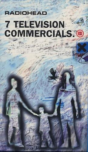 Radiohead 7 Television Commercials video (VHS or PAL or NTSC) UK R-HVITE272401