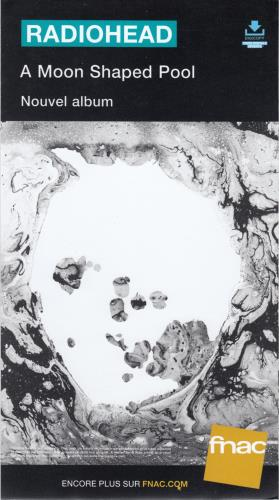 Radiohead A Moon Shaped Pool display French R-HDIAM658033