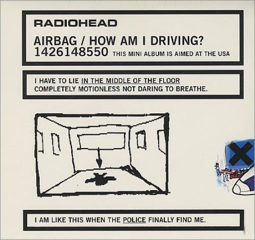 Radiohead Airbag/How Am I Driving? - Sealed CD album (CDLP) US R-HCDAI401820