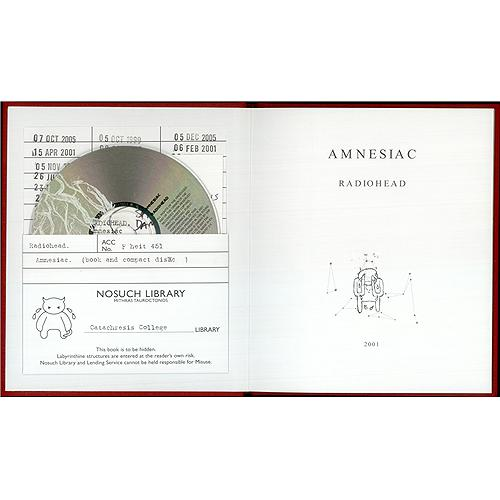 Radiohead Amnesiac Library Pack CD album (CDLP) UK R-HCDAM187032