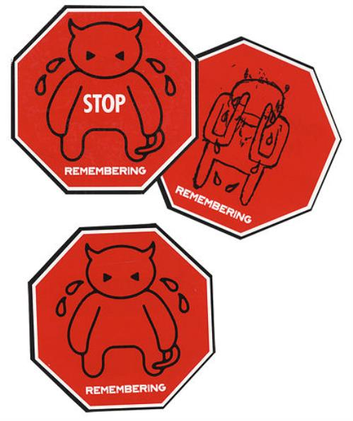 Radiohead Amnesiac Stickers memorabilia US R-HMMAM320232
