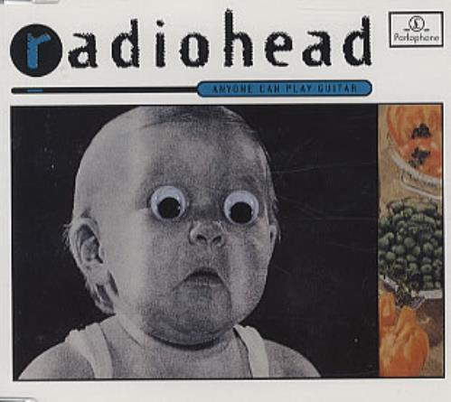 "Radiohead Anyone Can Play Guitar CD single (CD5 / 5"") Spanish R-HC5AN317351"