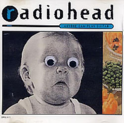 "Radiohead Anyone Can Play Guitar CD single (CD5 / 5"") US R-HC5AN52119"