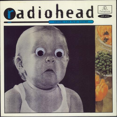 "Radiohead Anyone Can Play Guitar 12"" vinyl single (12 inch record / Maxi-single) UK R-H12AN80224"