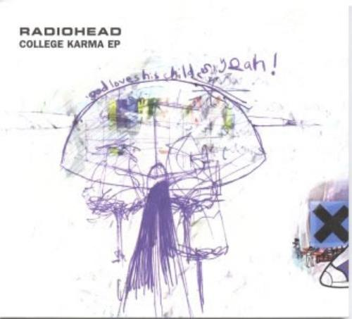 "Radiohead College Karma EP CD single (CD5 / 5"") US R-HC5CO107017"