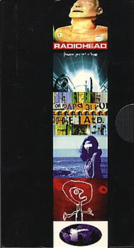 Radiohead Compilation video (VHS or PAL or NTSC) UK R-HVICO59314