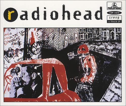"Radiohead Creep - Original Issue CD single (CD5 / 5"") UK R-HC5CR66686"