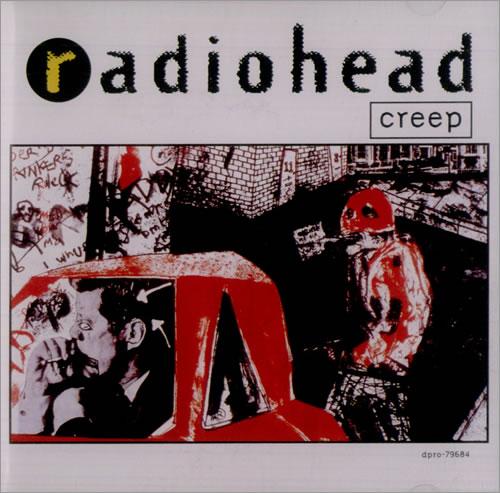 "Radiohead Creep CD single (CD5 / 5"") US R-HC5CR38229"