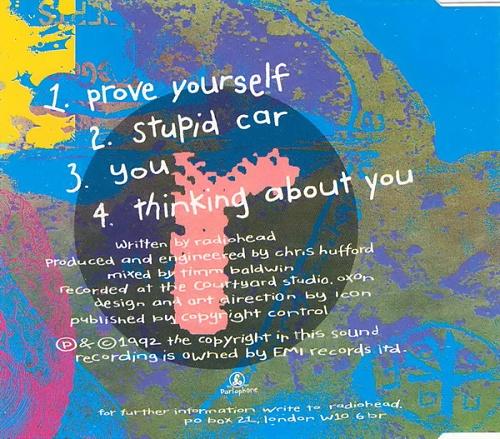 "Radiohead Drill E.P. CD single (CD5 / 5"") UK R-HC5DR62279"