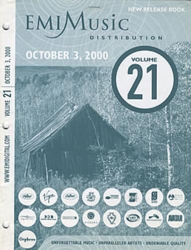 Radiohead EMI Distribution Book book US R-HBKEM320246