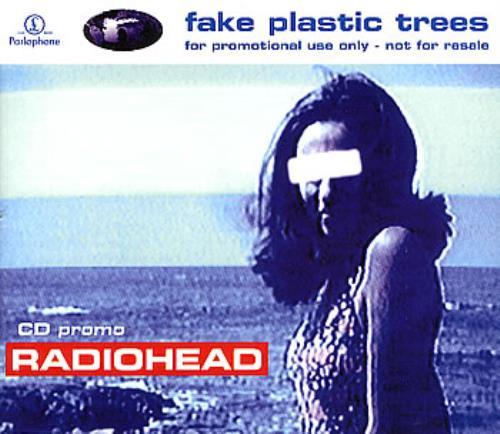 "Radiohead Fake Plastic Trees CD single (CD5 / 5"") UK R-HC5FA45036"