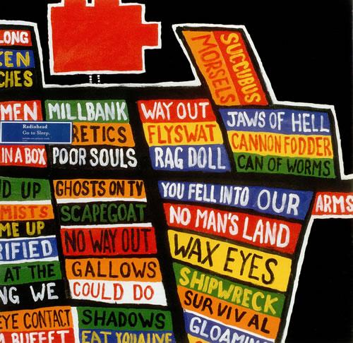"Radiohead Go To Sleep 12"" vinyl single (12 inch record / Maxi-single) UK R-H12GO254857"