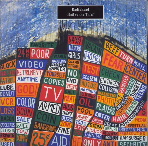 Radiohead Hail To The Thief - 1st - EX 2-LP vinyl record set (Double Album) UK R-H2LHA731726