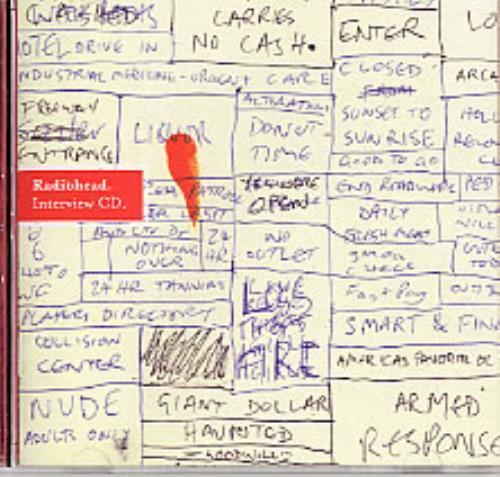 Radiohead Hail To The Thief - Interview CD CD album (CDLP) UK R-HCDHA251021