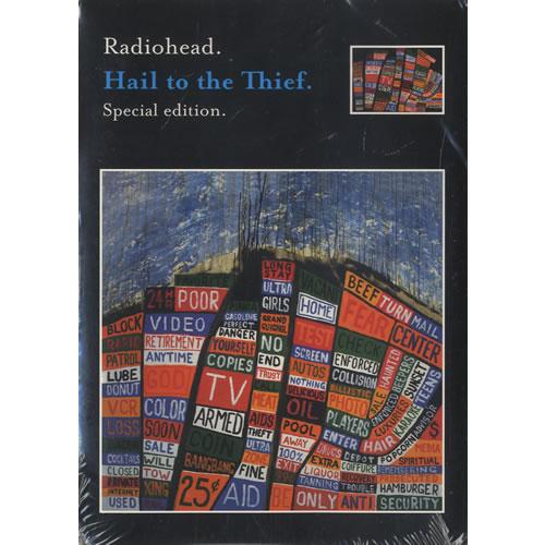 Radiohead Hail To The Thief - Special Edition - Sealed CD album (CDLP) US R-HCDHA271470