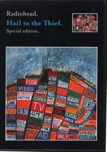 Radiohead Hail To The Thief - Special Edition CD album (CDLP) UK R-HCDHA252842