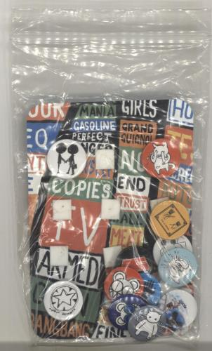 Radiohead Hail To The Thief Badge Set badge UK R-HBGHA696543
