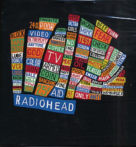 Radiohead Hail To The Thief t-shirt French R-HTSHA261964