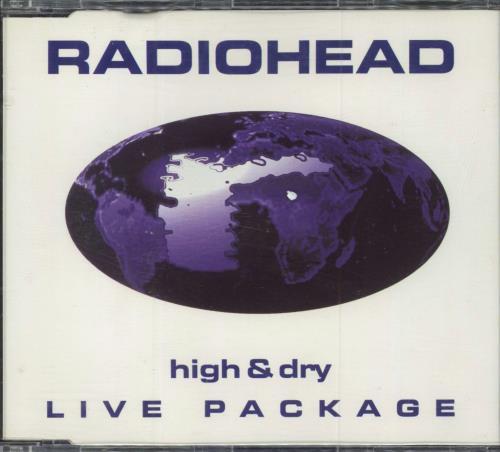 "Radiohead High & Dry - Live Package CD single (CD5 / 5"") Dutch R-HC5HI110449"
