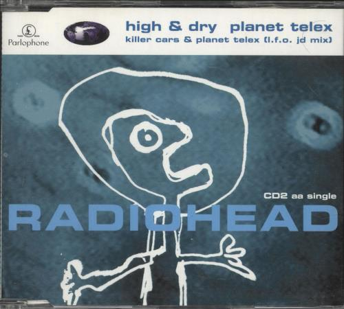 Radiohead High & Dry - reissue 2-CD single set (Double CD single) UK R-H2SHI166354