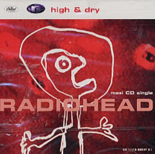 "Radiohead High & Dry CD single (CD5 / 5"") US R-HC5HI61946"