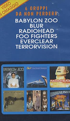 Radiohead High And Dry video (VHS or PAL or NTSC) Italian R-HVIHI303954