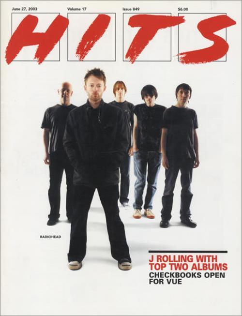 Radiohead Hits magazine US R-HMAHI434787