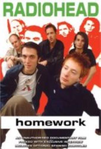 Radiohead Homework DVD UK R-HDDHO261407