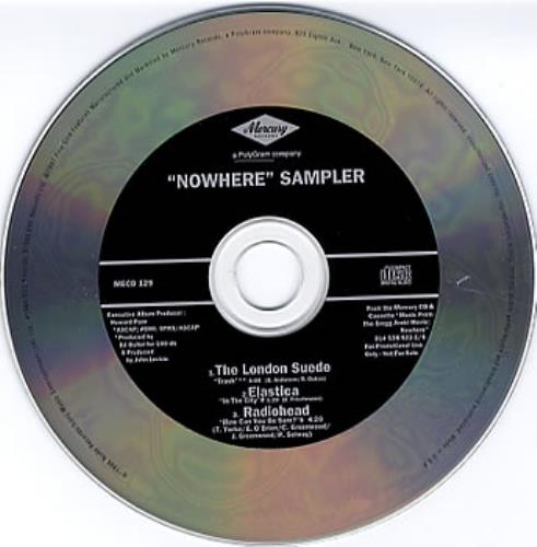 """Radiohead How Can You Be Sure - Nowhere CD single (CD5 / 5"""") US R-HC5HO92667"""