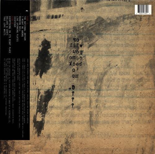 Radiohead I Might Be Wrong: Live Recordings - Sealed vinyl LP album (LP record) UK R-HLPIM690489