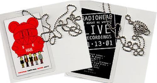Radiohead I Might Be Wrong memorabilia UK R-HMMIM212639