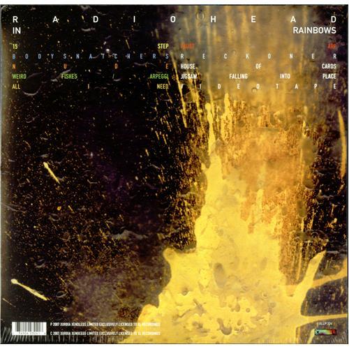Radiohead In Rainbows - Sealed vinyl LP album (LP record) UK R-HLPIN421972