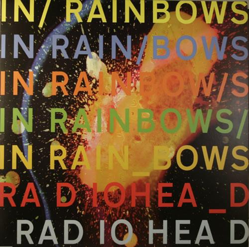 Radiohead In Rainbows vinyl LP album (LP record) UK R-HLPIN553887