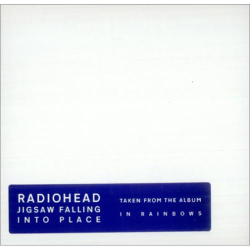 Radiohead Jigsaw Falling Into Place CD-R acetate UK R-HCRJI425362