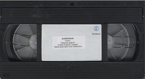 Radiohead Just - 40track video (VHS or PAL or NTSC) UK R-HVIJU270742