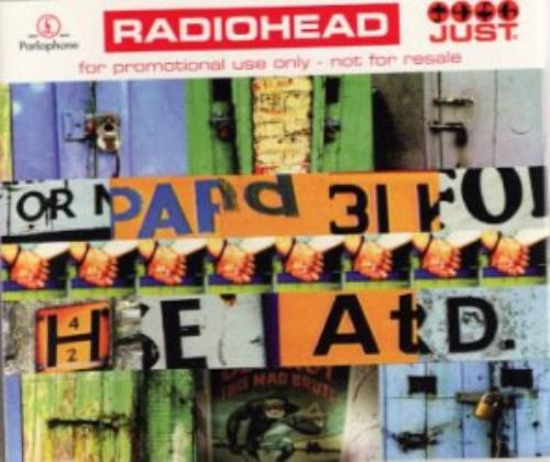 "Radiohead Just CD single (CD5 / 5"") UK R-HC5JU50669"