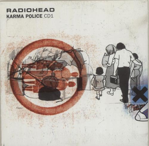 """Radiohead Karma Police - CD1 CD single (CD5 / 5"""") UK R-HC5KA92844"""