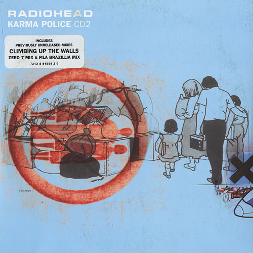Radiohead Karma Police - Parts 1 & 2 Originals 2-CD single set (Double CD single) UK R-H2SKA129004