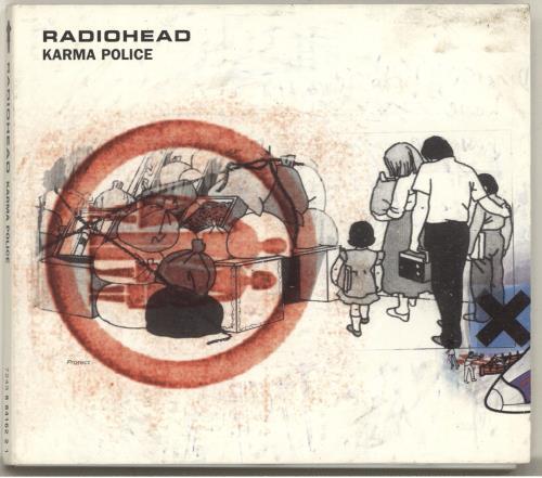 "Radiohead Karma Police CD single (CD5 / 5"") Australian R-HC5KA86743"