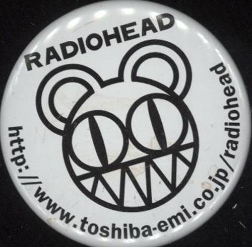 Radiohead Kid A badge Japanese R-HBGKI409152