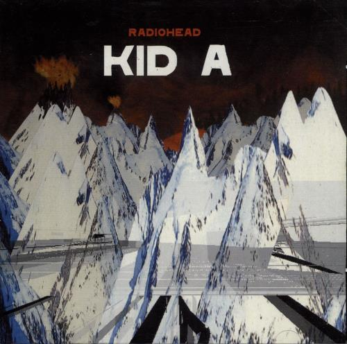Radiohead Kid A CD album (CDLP) UK R-HCDKI691986