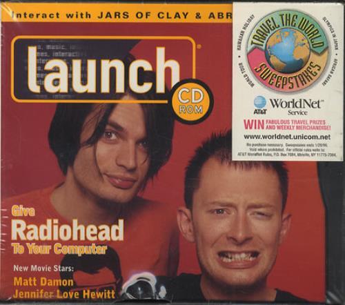 Radiohead Lucky - Live CD-ROM US R-HROLU414588