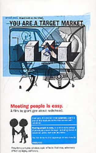 Radiohead Meeting People Is Easy video (VHS or PAL or NTSC) UK R-HVIME126970