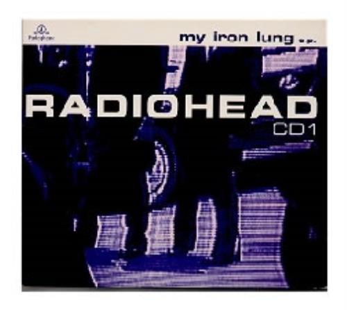 "Radiohead My Iron Lung - Cd1 CD single (CD5 / 5"") UK R-HC5MY34188"