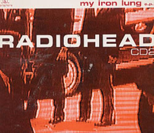 "Radiohead My Iron Lung - CD2 CD single (CD5 / 5"") UK R-HC5MY34189"
