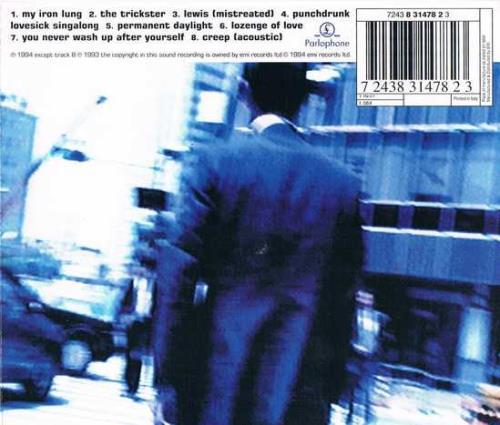 "Radiohead My Iron Lung CD single (CD5 / 5"") Italian R-HC5MY274533"