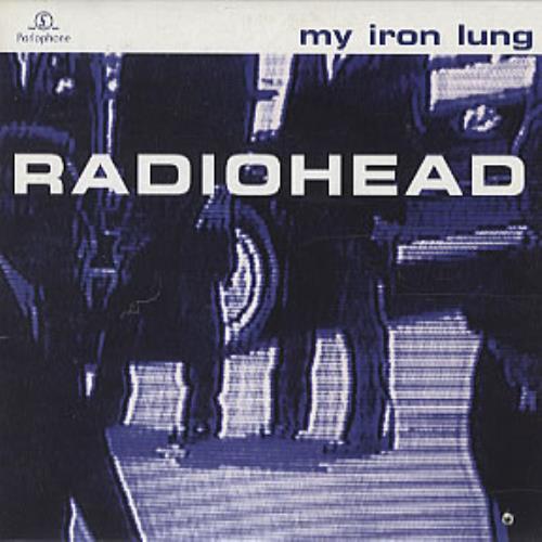 "Radiohead My Iron Lung CD single (CD5 / 5"") Dutch R-HC5MY320761"