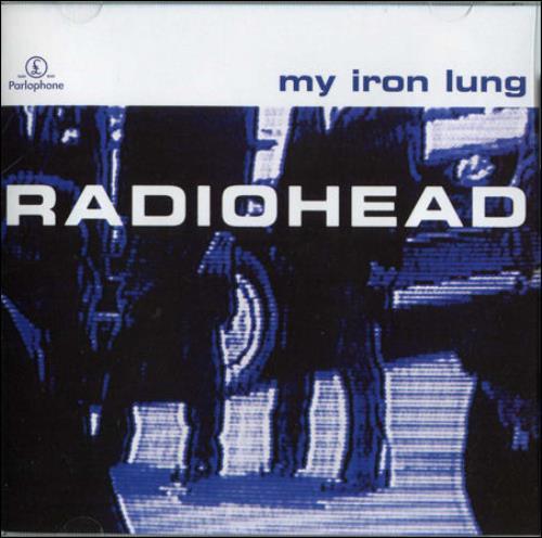 "Radiohead My Iron Lung CD single (CD5 / 5"") Australian R-HC5MY66189"
