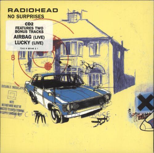 Radiohead No Surprises - reissue 2-CD single set (Double CD single) UK R-H2SNO165915