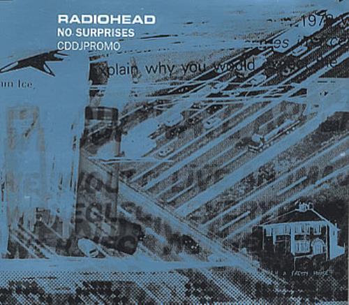 "Radiohead No Surprises CD single (CD5 / 5"") Dutch R-HC5NO127000"